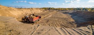 добыча песка карьер